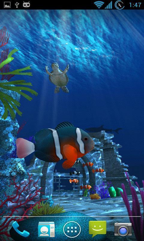 壁紙 海底 海底世界 海洋館 水族館 480_800 豎版 豎屏 手機